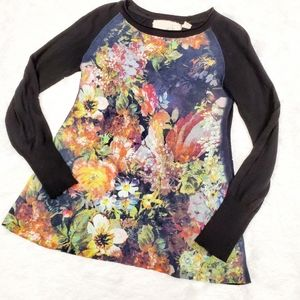 Angel of the North Still Life Floral Sweater